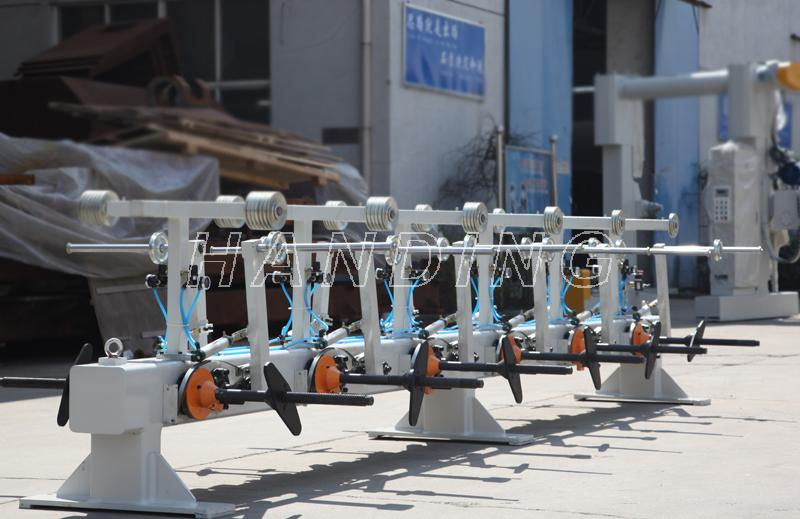 传动轴悬臂式单绞机