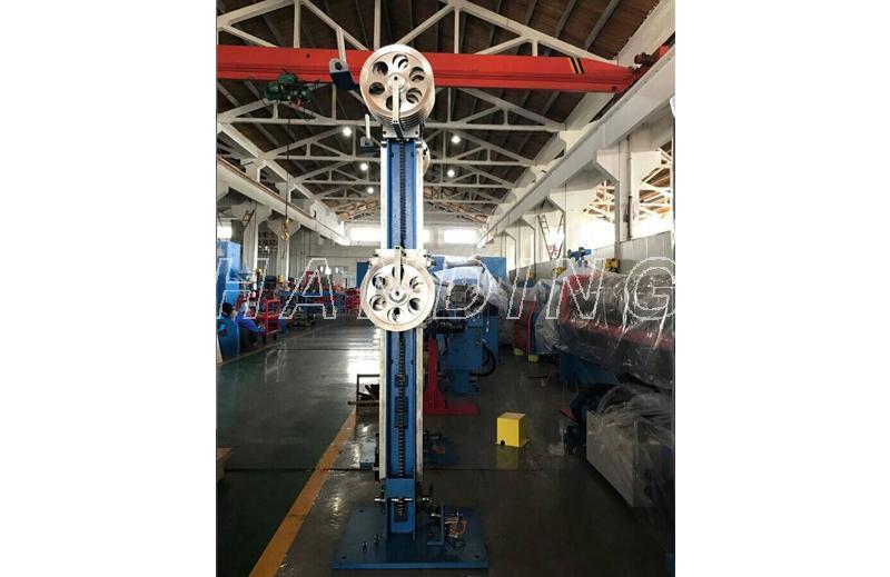 400型交叉网状排线双轴卷取机