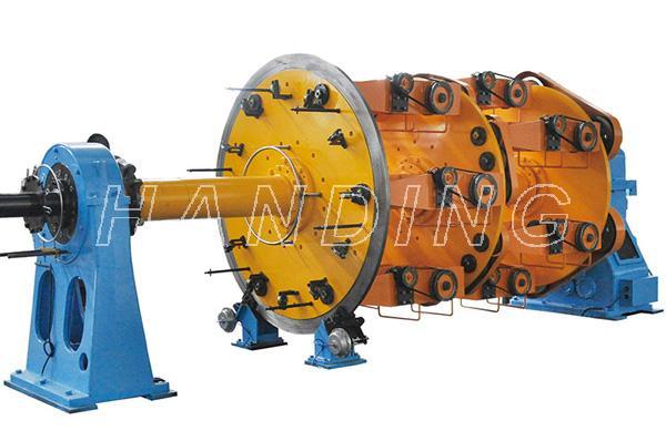 Ø250-630/6+12+18+24永磁张力、分电机笼式绞线机
